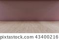 Interior Background 3D rendering 43400216