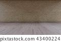 Interior Background 3D rendering 43400224
