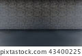 Interior Background 3D rendering 43400225