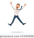 human, jump, jumping 43400688