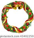 christmas wreath, christmas, noel 43402250