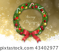 Christmas wreath 43402977