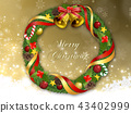 christmas wreath, christmas, noel 43402999