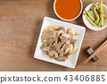 beef, chopsticks, cooked 43406885
