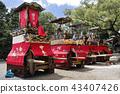 코마 아키바 축제 수레 43407426