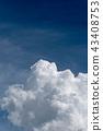 구름, 뭉게구름, 맑음 43408753