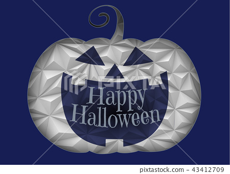 Halloween Jack pumpkin smile illustration 43412709