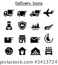 Delivery & Logistic icon set 43413724