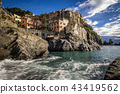 Manarola from the dock 43419562