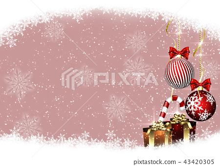 聖誕節背景 43420305