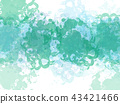 Abstract colorful watercolor painting illustration 43421466