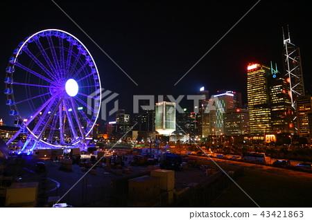 Ferris wheel at night 43421863