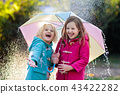 umbrella, girl, child 43422282