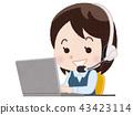 แล็ปท็อป,ผู้หญิง,หญิง 43423114