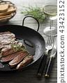 Beef steak 43423152