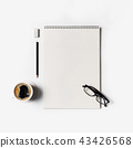 Blank stationery set 43426568