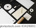 Corporate stationery set 43426601