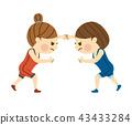 女子摔跤 43433284