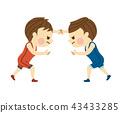 摔跤 格鬥運動 男人 43433285