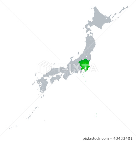 관동 지방과 일본 열도 43433401