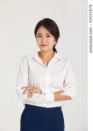 일하는 20대,30대 비즈니스우먼,일,직업,자신감,직장인 43433878