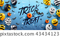 """""""Trick or Treat"""" Halloween Background  43434123"""