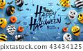 Happy Halloween Background 43434125