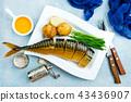 smoked fish 43436907