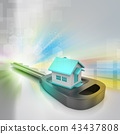 3d home with key 43437808