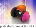 loudspeaker and headset 43437833