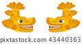 鯱 逆戟鯨 神話鯉魚塑像 43440363