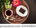 Chestnut and Brownies,Vegan food, homemade 43440804
