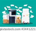 document, heap, paper 43441221