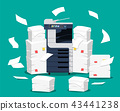Office multifunction machine. 43441238