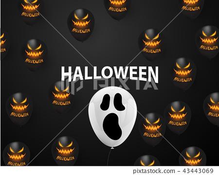 Halloween Carnival Background, 43443069
