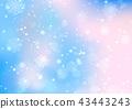 Christmas lights bokeh background 43443243