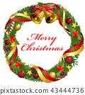 christmas wreath, christmas, noel 43444736