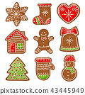gingerbread vector collection 43445949