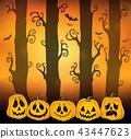 Halloween forest theme image 6 43447623