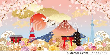 日本很多顏色 43447669