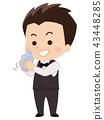 Bartender man 43448285