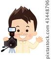 攝影師 照相機 攝影 43448796