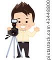 攝影師 照相機 攝影 43448800
