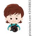 카메라맨, 촬영기사, 사진작가 43448863