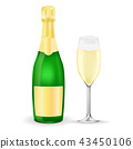 champagne sparkling wine 43450106