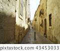 Empty alley in Rabat 43453033