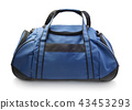 Sports bag isolated 43453293