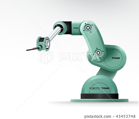 Industrial machine robotic hand arm machinery 43453748
