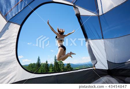 Camping nude pics