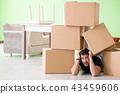 黄楊木 盒子 箱子 43459606
